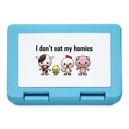 I don't eat my homies svart - Matlåda