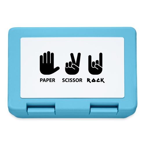 paper scissors rock c - Broodtrommel
