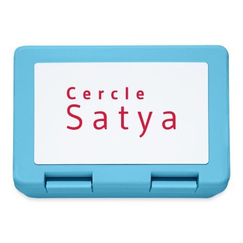 Cercle Satya - Boîte à goûter.