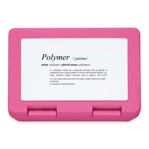 Polymer definition. - Lunchbox
