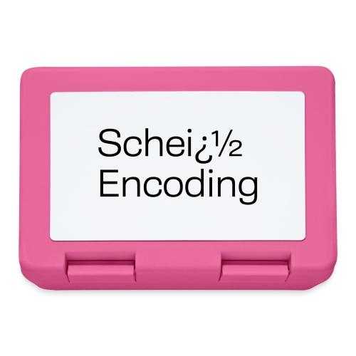 Scheiß Encoding - Brotdose