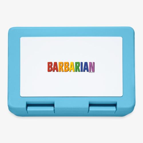 Barbarian Pride (Rainbow) - Lunchbox
