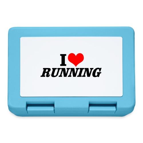I love running - Brotdose