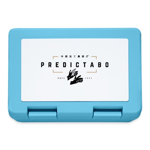 Predictabo - Boîte à goûter.