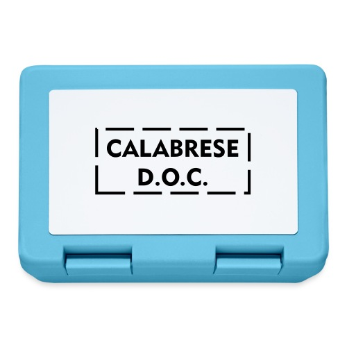 calabrese doc - Lunch box