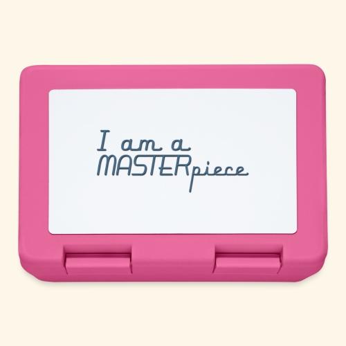 I am a MASTERpiece - Lunchbox