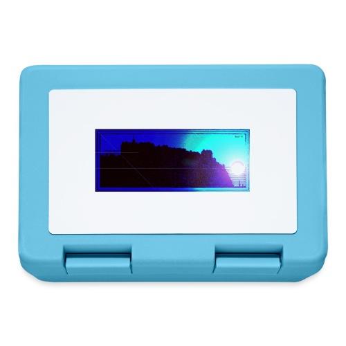 Silhouette of Edinburgh Castle - Lunchbox