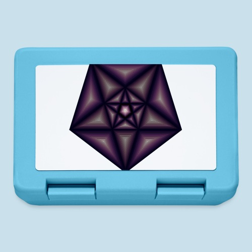 Pentagramm farbe - Brotdose