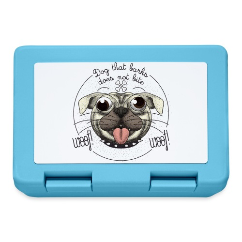Dog that barks does not bite - Lunch box