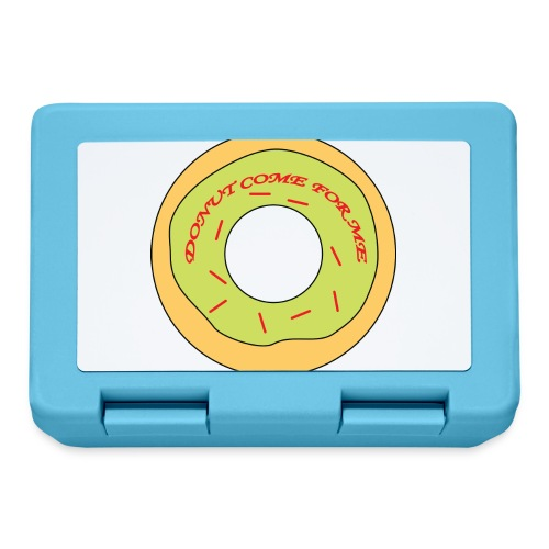 Donut Come For Me Red - Lunchbox