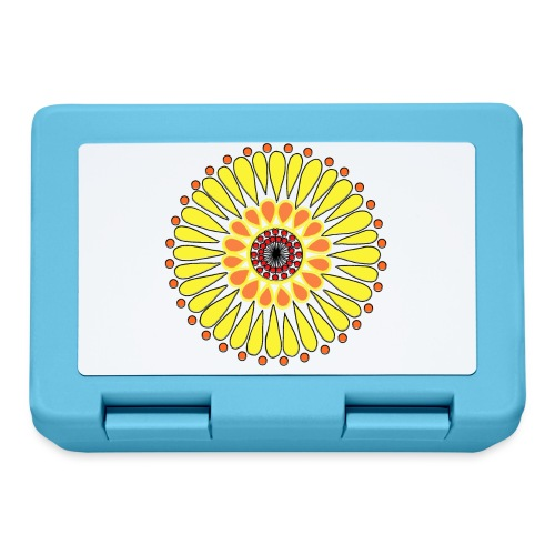 Yellow Sunflower Mandala - Lunchbox