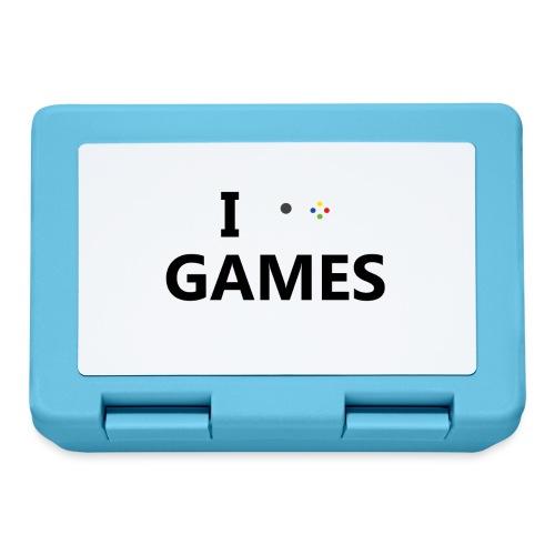 I Love Games - Fiambrera