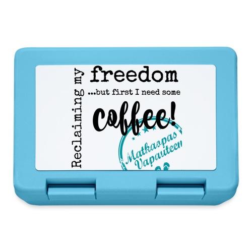 Kahvimuki Matkaopas Vapauteen, turkoosi - Eväsrasia