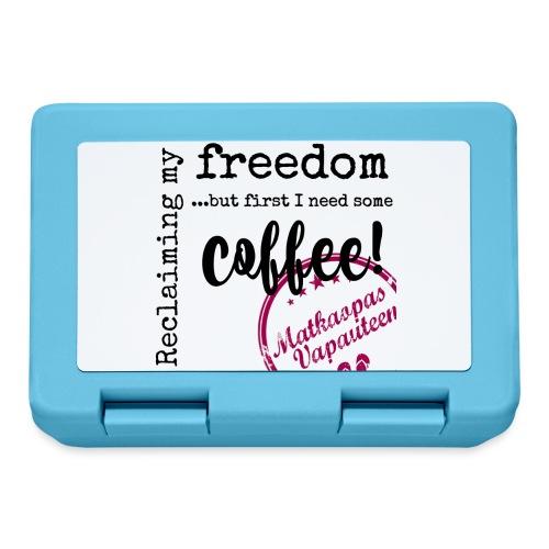 Kahvimuki Matkaopas Vapauteen, pun - Eväsrasia