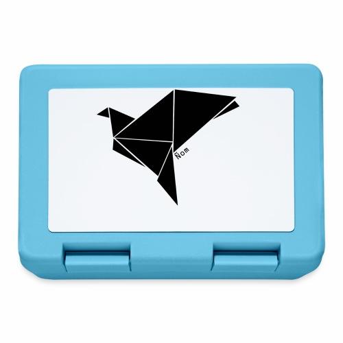 Origami - Boîte à goûter.