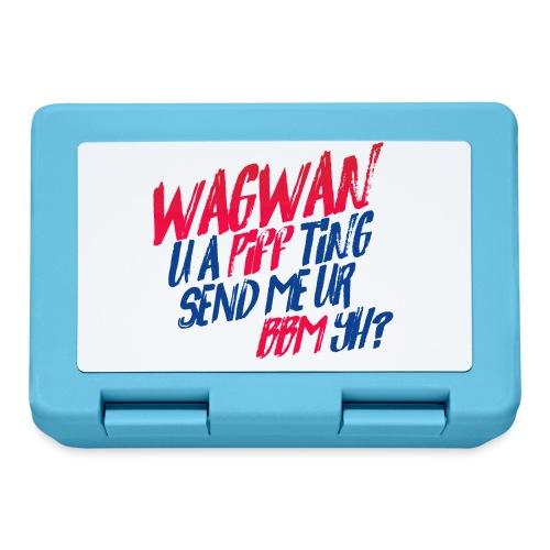 Wagwan PiffTing Send BBM Yh? - Lunchbox