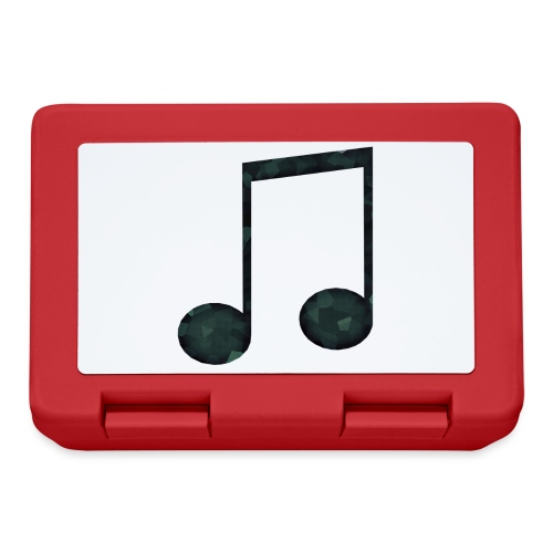 Low Poly Geometric Music Note - Lunchbox