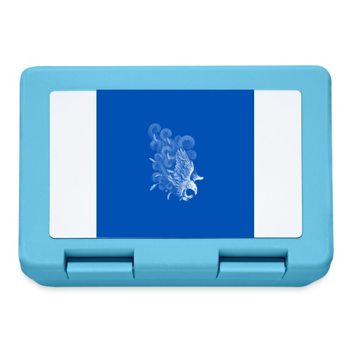 Windy Wings Blue - Lunchbox