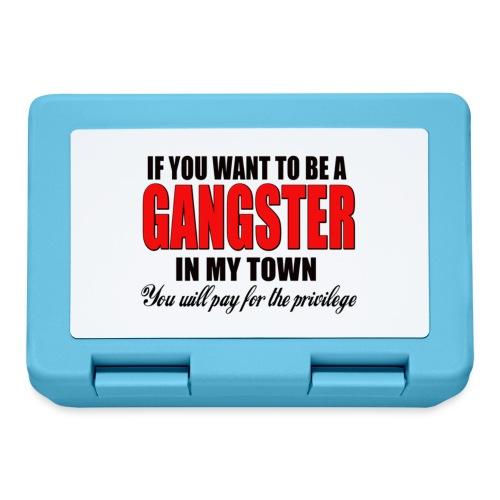 ville gangster - Boîte à goûter.