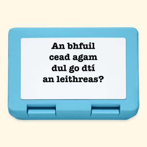 An Bhfuil Cead? - Lunchbox