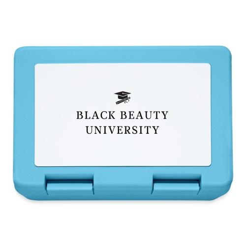 BLACK BEAUTY UNIVERSITY LOGO BLACK - Boîte à goûter.