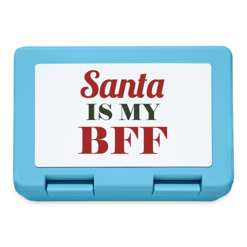 Santa is my BFF! Ein Must have für alle Romantiker - Brotdose