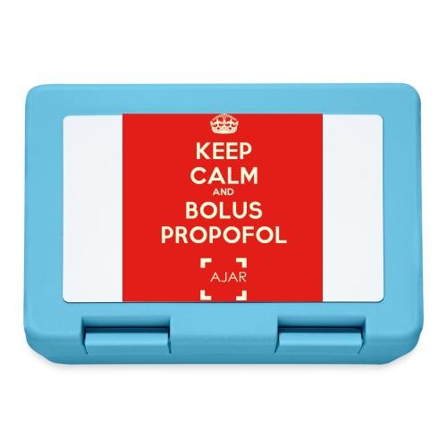 Keep calm and bolus PROPOFOL ! - Boîte à goûter.