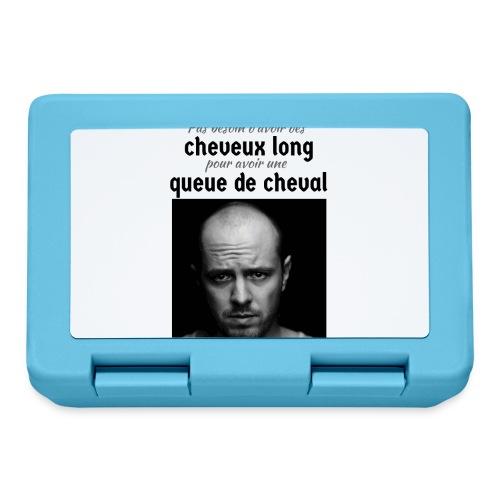 Humour Chauve ! - Boîte à goûter.