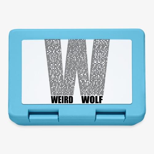 The Big W (Black) - Lunchbox