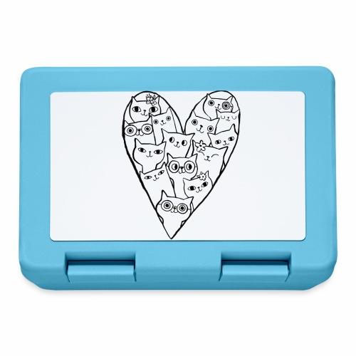 I Love Cats - Lunchbox