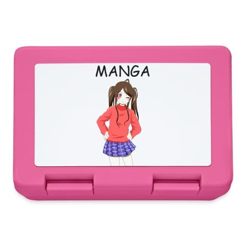 Anime girl 02 Text Manga - Brotdose