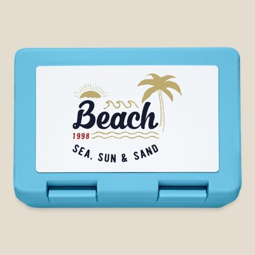 Outdoor beach - Boîte à goûter.