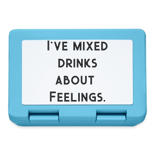 Mixed Drinks about Feelings - Gift Idea - Lunchbox