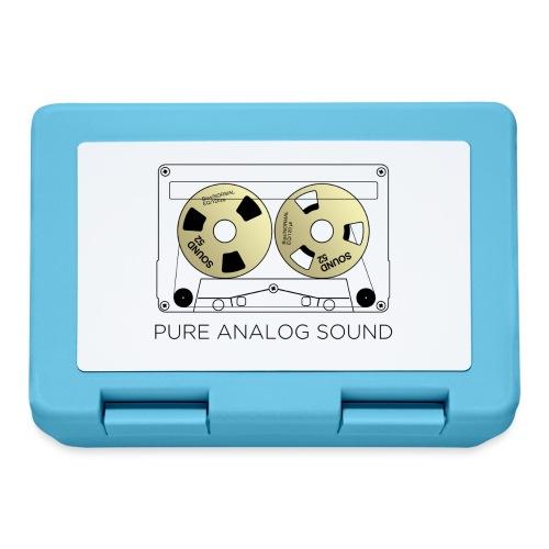 Reel gold cassette white - Lunchbox