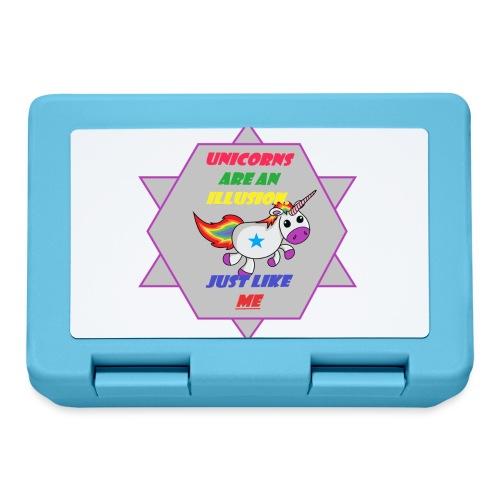 Unicorn with joke - Lunchbox