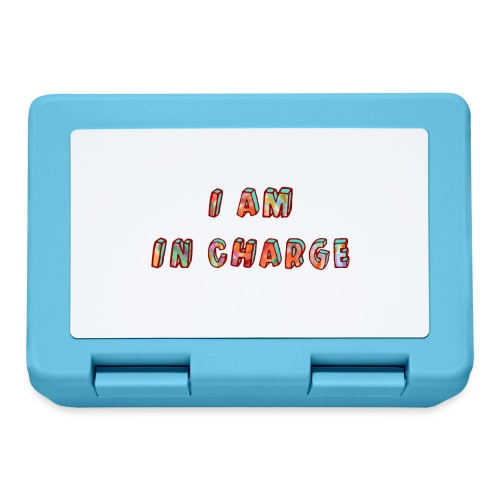 I am in Charge - Lunchbox