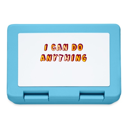 I can do anything - Lunchbox