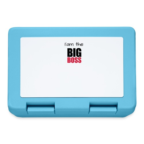 I am the big boss - Boîte à goûter.