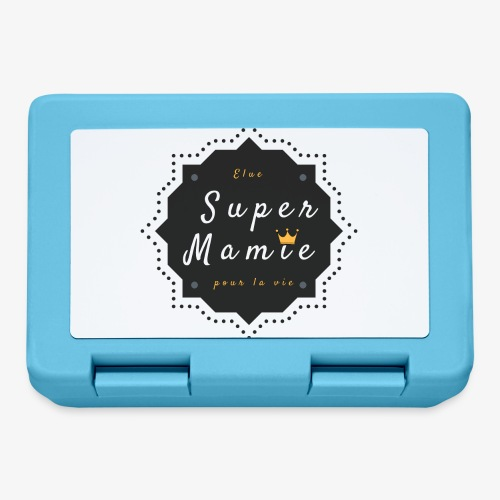 Elue super Mamie pour la vie - Boîte à goûter.
