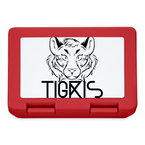 Tigris Logo Picture Text Black - Lunchbox
