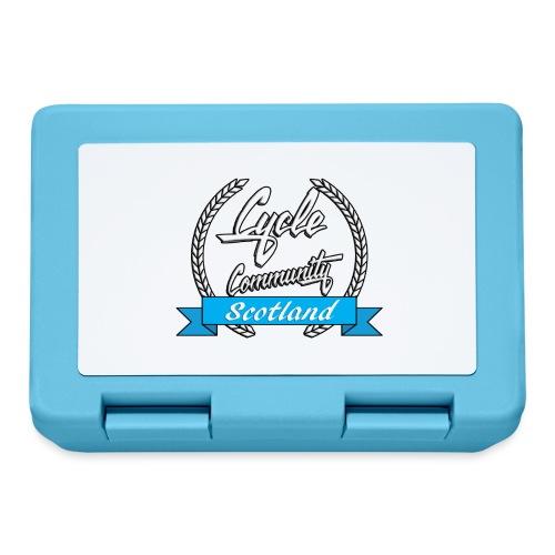 cycle community scotland Big tee - Lunchbox