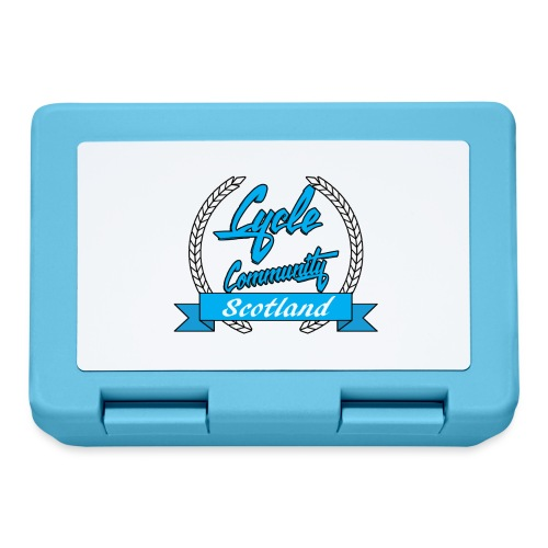 cycle community scotland blue logo tee - Lunchbox