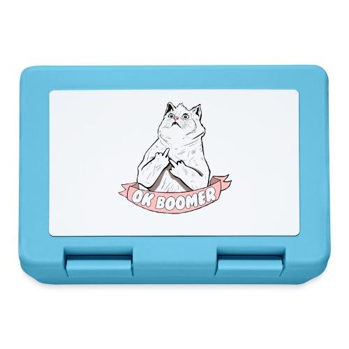 OK Boomer Cat Meme - Lunchbox