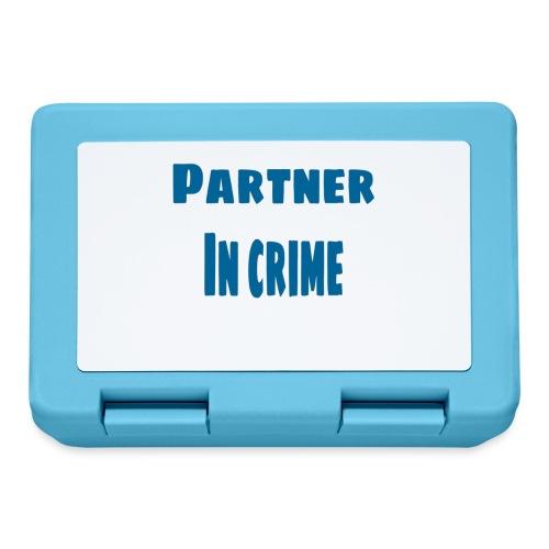 Partner in crime blue - Matlåda