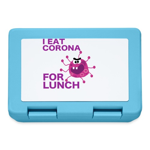 I Eat Corona For Lunch - Coronavirus fun shirt - Broodtrommel