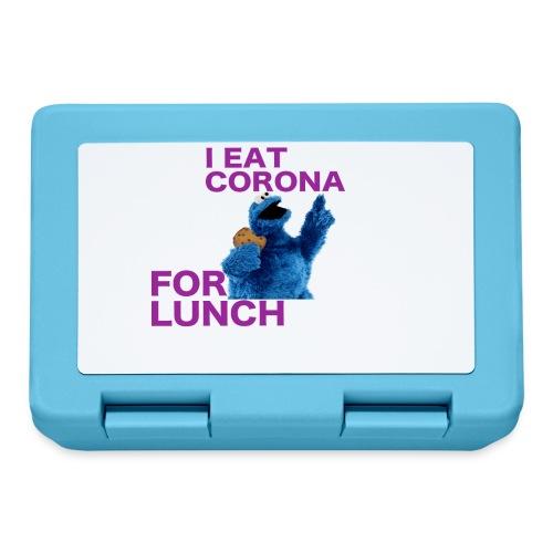 I eat corona for lunch - coronavirus shirt - Broodtrommel