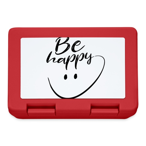 Be Happy With Hand Drawn Smile - Lunchbox