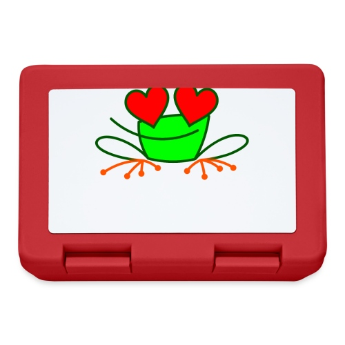 Frog in Love - Lunchbox