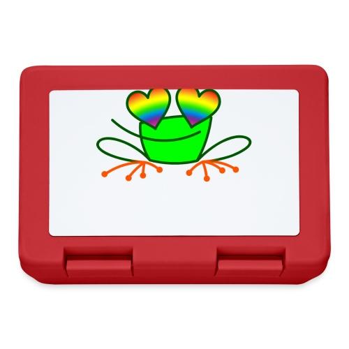 Pride Frog in Love - Lunchbox