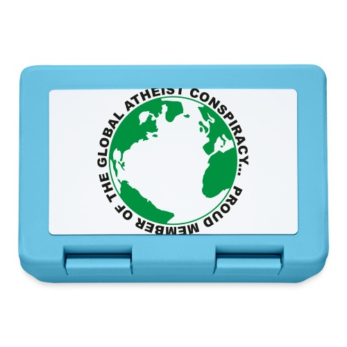 Global Atheist Conspiracy - Lunchbox